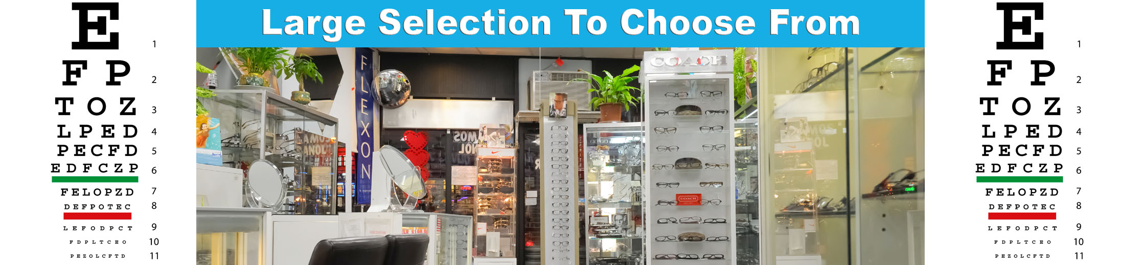 Optician optometrist Queens, NY Eye Doctor Glasses Contact Lens for eyes vision